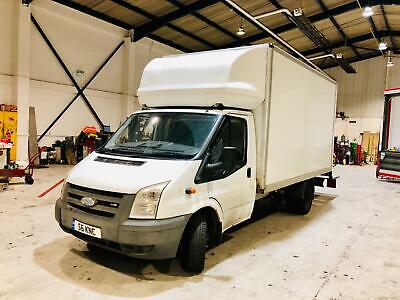 Ford Transit Luton van with tail lift 2007 LWB With Private plate