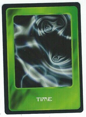 Doctor Who Black Border CCG Card Time Variant Green Background Card Good