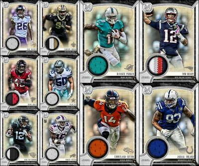Topps HUDDLE MUSEUM COLLECTION 2019 [10 CARD SILVER RELIC SET] Brady+++