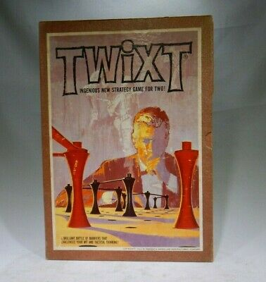 """*Complete /& Ready to Play* MMM Bookshelf Vintage 1962 /""""TWIXT/"""" Game 3M // 3-M"""