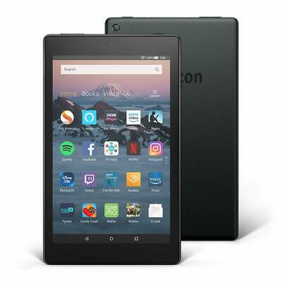 Amazon Kindle Fire HD 8 Tablet with Alexa 16GB Black Latest 2018 Model 8th Gen