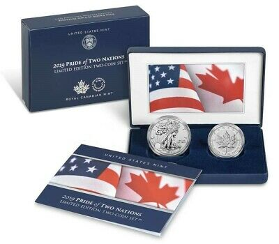 2019 Pride of Two Nations 2pc. Set U.S. Set Ships next day!!!