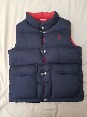 Polo Ralph Lauren Boys Vest (Down fill) Size 8