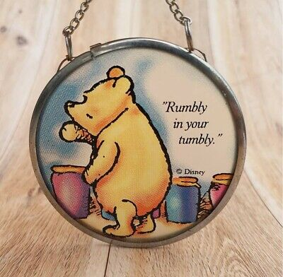 Disney Winnie the Pooh suncatcher with chain