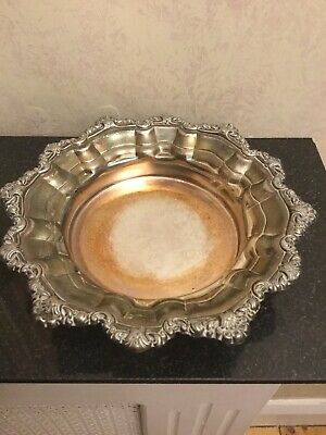 Vintage Silver Plated Bowl By Falstaff
