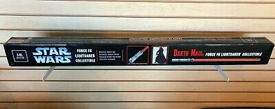 Darth Maul Master Replicas Force FX Lightsaber ~ BRAND NEW Factory Sealed Box!