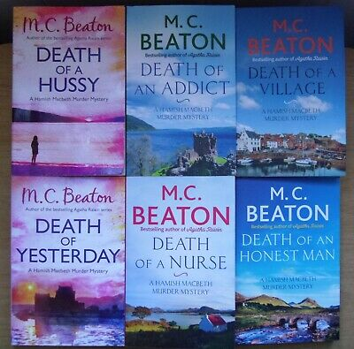 Death of an Addict + Death of Yesterday + Death of a Nurse by M C Beaton (3 pbs)