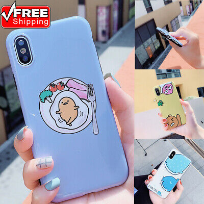 Cartoon Style Pattern Shockproof Ultrathin Nonslip TPU Phone Case For iPhone Lot