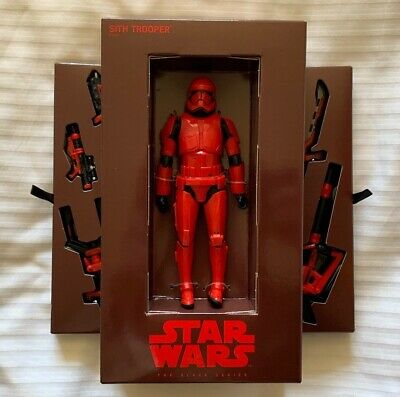 SDCC 2019: Hasbro STAR WARS Black Series Red SITH TROOPER Exclusive IN HAND