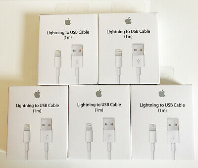 Genuine Original OEM Apple Lightning to USB Cable for iPad iPhone 6 7 8 X Xs Xr