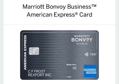 *$60 FROM ME *  Marriott Bonvoy Business American Express AMEX 100k points