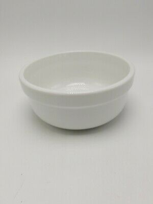 """Williams Sonoma """"Everyday White"""" Large Soup / Cereal Bowl 6 3/4 Inch"""