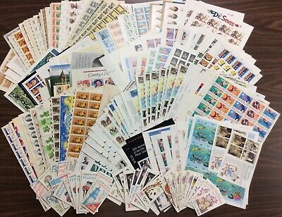 Discount Stamps: $1,104.71 Face Value, Lot Of Mint Sheets, New Condition