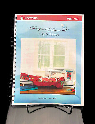Husqvarna Viking Designer Diamond Sewing Machine User Guide Manual COLOR Reprint