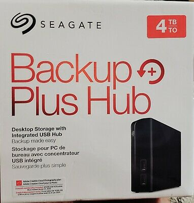 4TB SEAGATE CENTRAL NAS Personal Cloud Storage External HDD