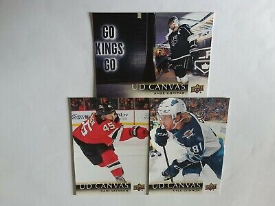 2018-2019 Upper Deck Serie 2 Lot Of 13 Canvas Cards See List