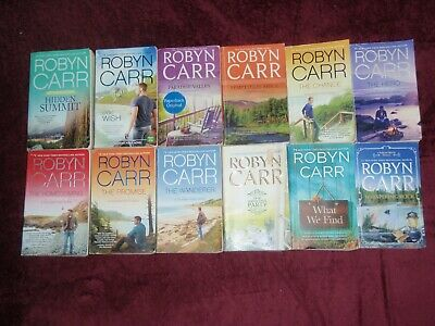 LOT OF 8 Novels by Robyn Carr (Paperback ) - $5 95 | PicClick
