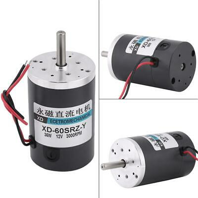 DC 12V 3000RPM Permanent Magnet DC Electric Motor High Speed