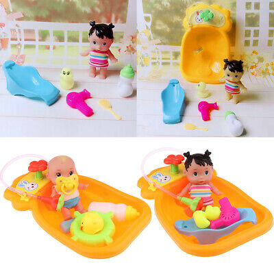 Bathtub With Doll Bath Toy For Floating Water Child Early Educational Toys