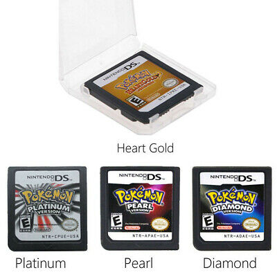 Pokemon Platinum HeartGold SoulSilver Game Card Fits Nintendo 3DS NDSI NDS Lite