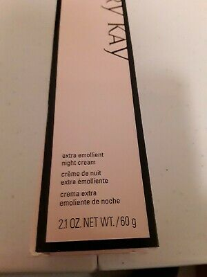 New in Box Mary Kay Extra Emollient Night Cream 2.1oz Free Shipping