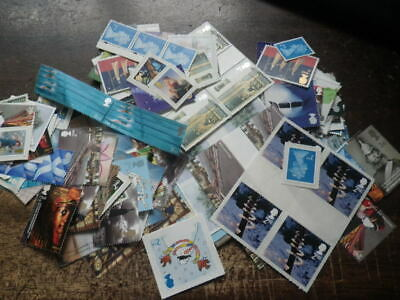 GB STAMPS £179.95  Mint Full Gum. 295 x 2nd Class Stamps Sell For £126.00