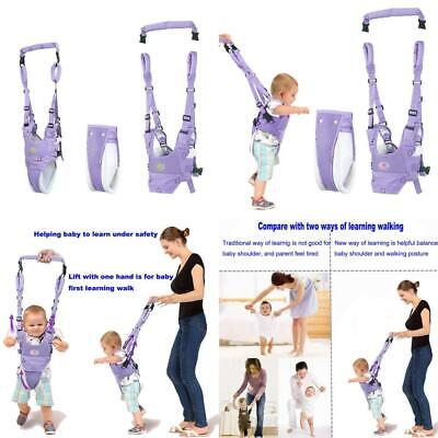 Baby Walker Assistant Toddler Walking Harness, Stand Up and Purple