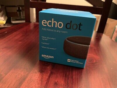 New Amazon Echo Dot (3rd Generation) + Fast And Furious Blu RAY Collection 1-7