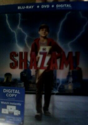 Shazam On Bluray Dvd Digital