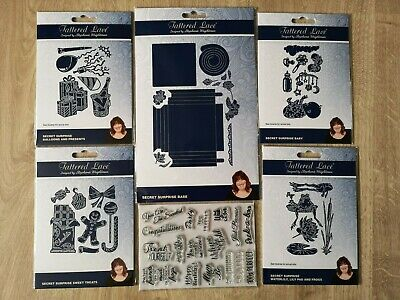 Tattered Lace Secret Surprise Collection Dies & Stamps - Free Download