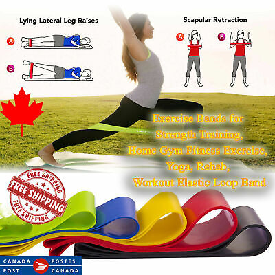 Resistance Loop Bands Exercise Bands For Strength/Training/Physical/Therapy/Gym
