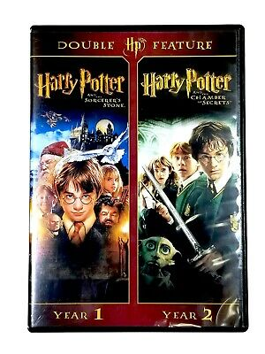 Harry Potter & The Chamber Of Secrets DVD Missing Sorcerers Stone disc