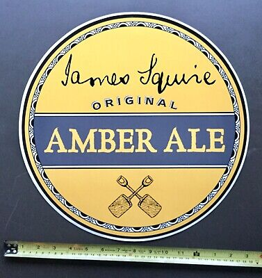 James Squire. Amber Ale. Original Sticker / Decal. x 1