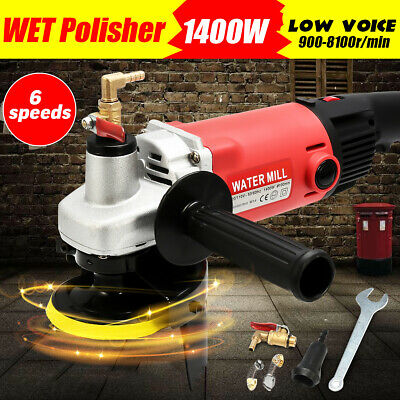 Variable Speed Wet Polisher Grinder Stone Polishing for Concrete Marble