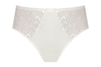 Wiesmann Women Bridal Lingerie Embroidered Classic High Panties Bella (US 6-14)