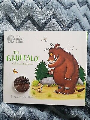 2019 Royal Mint The Gruffalo Fifty Pence 50p Coin Brilliant Uncirculated BU UK