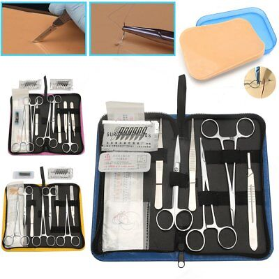 Suture Practice Kit - 11/13/19Pcs Suturing Tools OR 3 Layer Medical Training