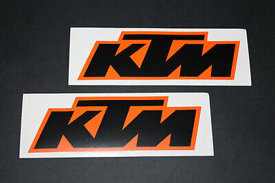 #419 KTM Cross Motorrad Dirt Aufkleber Sticker Decal Autocollant Bapperl Race