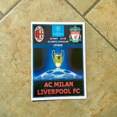2007 Champions League Final Pirate Programme Ac Milan V Liverpool Mint Condition