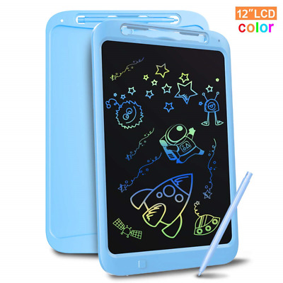 Richgv Colourful LCD Writing Tablet,12 Inch Drawing Board Art Tablet with Stylus
