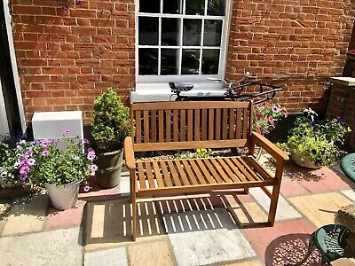 2/3 Seater Wooden Bench Outdoor Garden Patio Seating Large Quality Hardwood