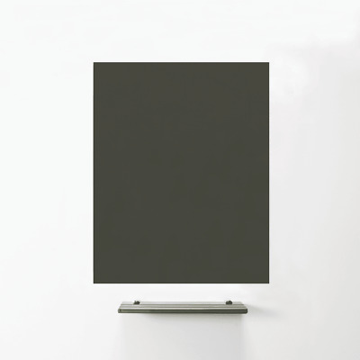MagniPlan 900 x 600 Magnetic Glass Wipe Board - Grey