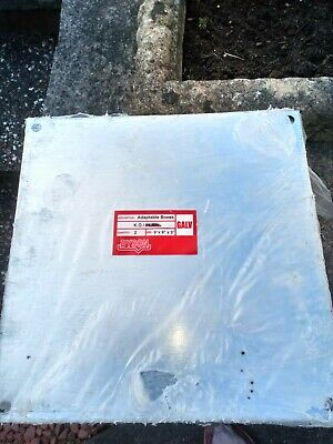 """12 Off Dyson Galvanised Adaptable Steel Box 9x9x3"""" Electrical Enclosures"""