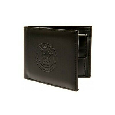 Chelsea F.C. Debossed Wallet Card Notes Money PU Leather Men's Football Gift