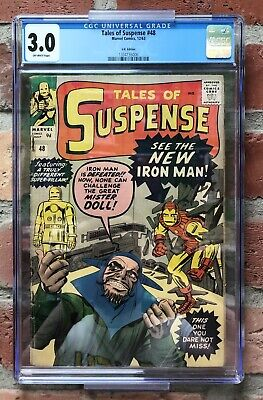 Tales Of Suspense #48 Cgc 1St Red & Gold Armor Modern Iron Man 1St Mister Doll