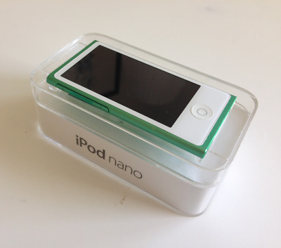 Apple iPod Nano 7th Generation 16GB Green Boxed Excellent Condition