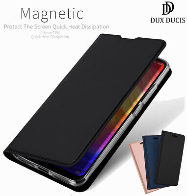 DD For Xiaomi Redmi Note 7 PU Leather Flip Case Wallet Smart Magnetic Skin Cover