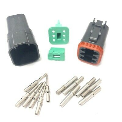 Removal Tools Male /& Female Deutsch DT Connector KIT Gray 518 Piece Kit Solid TERMINALS