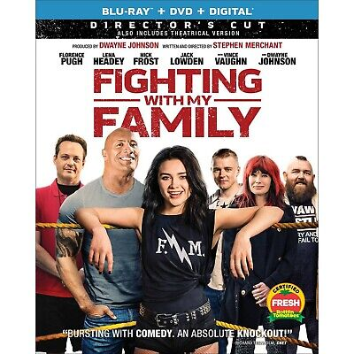 FIGHTING WITH MY FAMILY  bluray  digital dvd