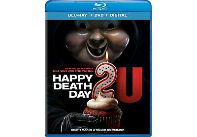 HAPPY DEATH DAY 2 U  bluray  digital dvd